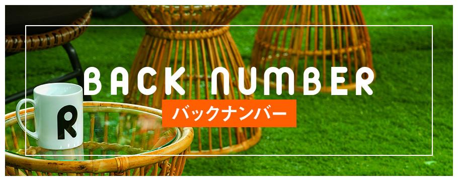 BUCK NUMBER バックナンバー