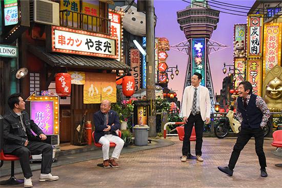 岡田圭右(ますだおかだ)、山本浩之、東野幸治、メッセンジャー黒田