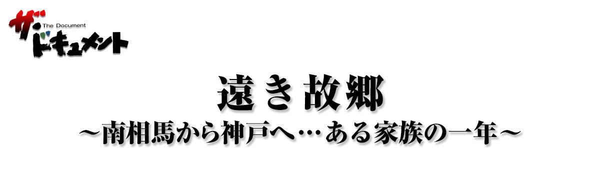 遠き故郷 ~南相馬から神戸へ…ある家族の一年~