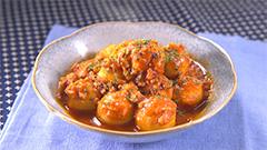 サトイモのボロネーゼ