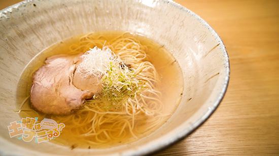 「魚介と鶏の中華そば」