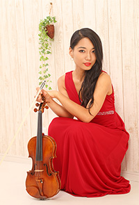 横山 令奈 Lena Yokoyama(ヴァイオリン)
