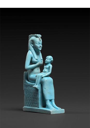 ホルスに授乳するイシス女神