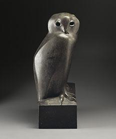 《ワシミミズク》 ブロンズ 1927-1930年 パリ、オルセー美術館蔵