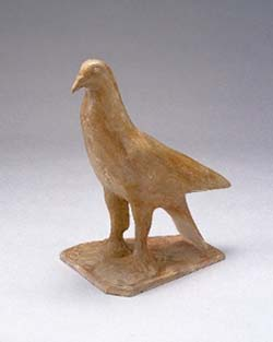 《鳩「ニコラ」》ブロンズ1926-1927年 群馬県立館林美術館蔵