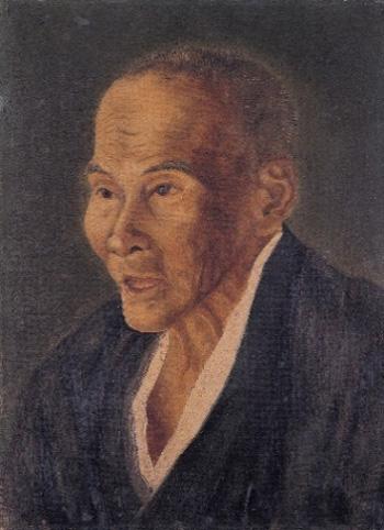 高橋由一《小幡耳休之肖像》1872年
