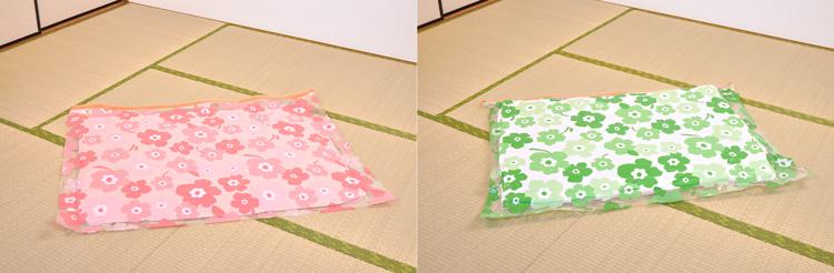 フラワー届いてすぐに使える布団圧縮袋