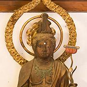 文殊菩薩立像
