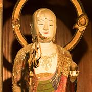 地蔵菩薩立像(松上げ地蔵)