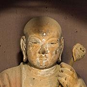 僧形文殊菩薩坐像
