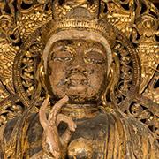 聖観音坐像