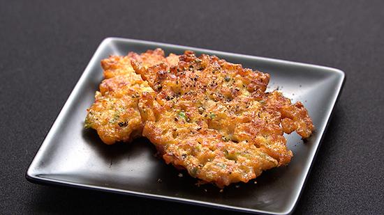 ロバート馬場さんレシピ「納豆とベーコンの天ぷら」