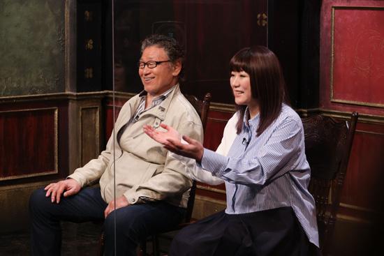 天龍源一郎、嶋田紋奈(天龍プロジェクト代表)