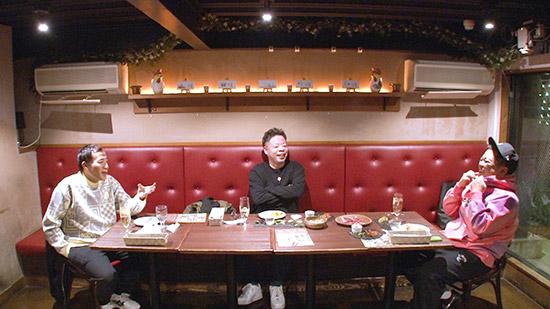 「ボケの言い分・ツッコミの言い分 第3弾」ボケ組 ① 左から)塙宣之(ナイツ) ユースケ(ダイアン) 久保田かずのぶ(とろサーモン)