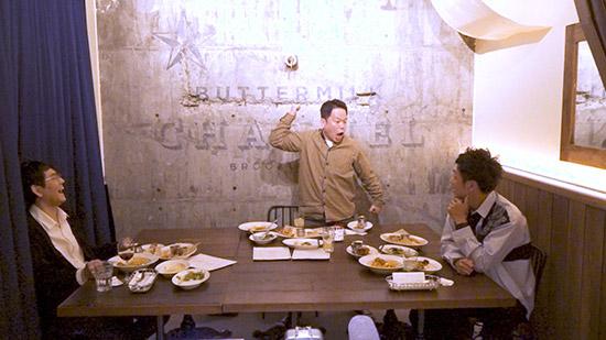 「ボケの言い分・ツッコミの言い分 第3弾」ツッコミ組① 左から)土屋伸之(ナイツ) 津田篤宏(ダイアン) 村田秀亮(とろサーモン)
