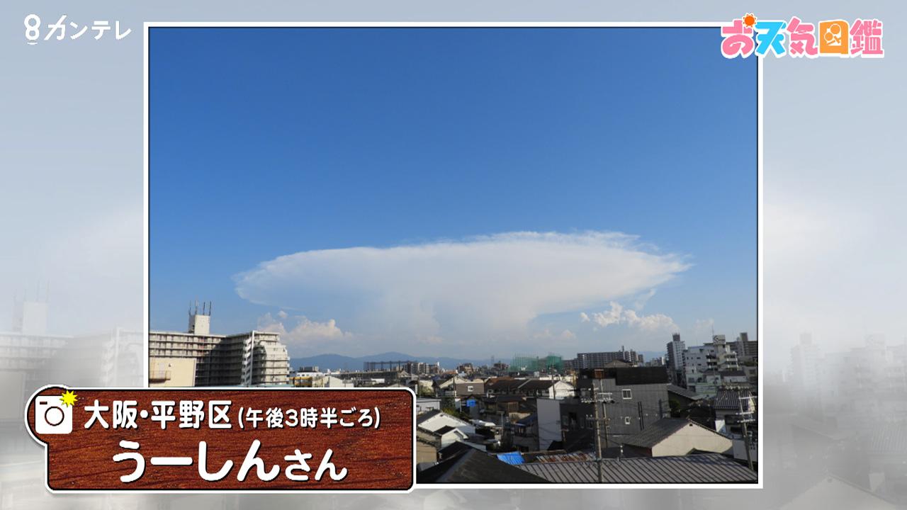 「この雲は何?」(大阪市)