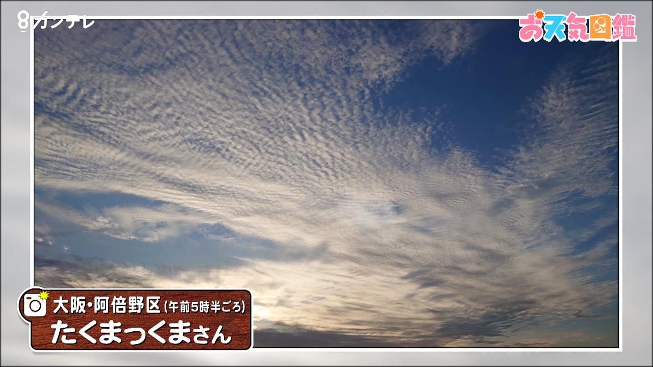 「この雲なーに?」(大阪市)