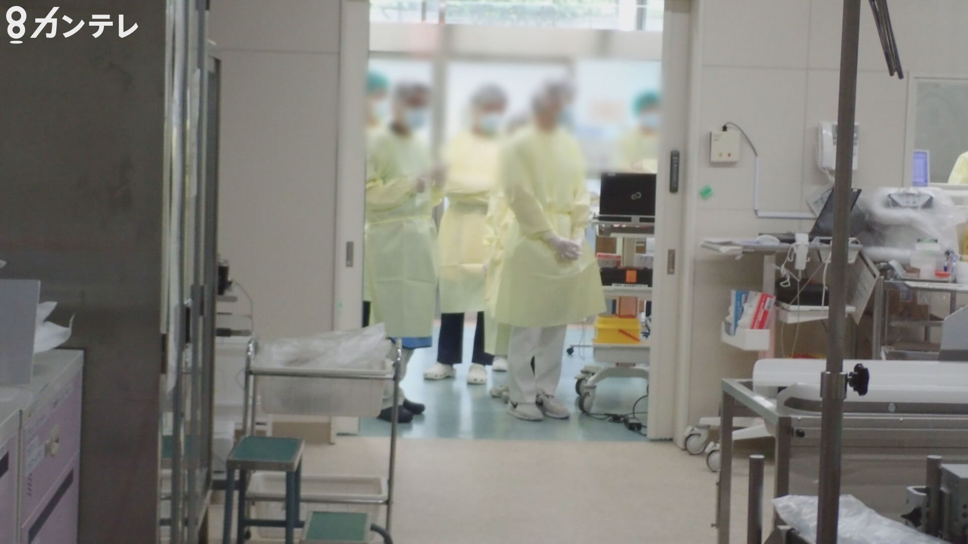 恐れるのは「2つの医療崩壊」…脳卒中や心筋梗塞に対する救急医療が、十分にできなくなる恐れも 病院が内部映像を公開
