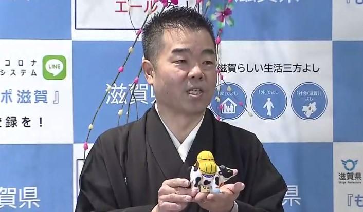 滋賀県知事「病床を約20床上積みへ」 緊急事態宣言は「現時点では発する状況ではない…」