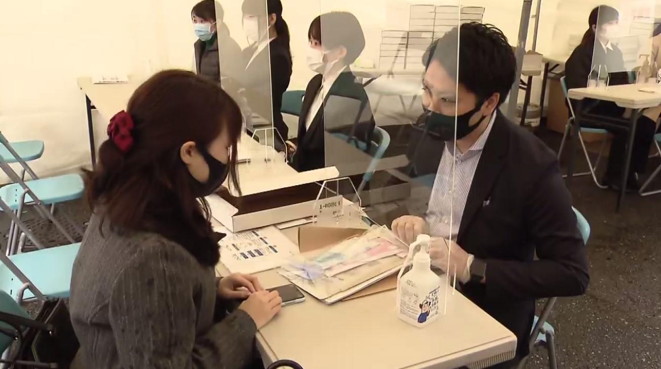 大阪・兵庫・京都で「モニタリング検査」始まる 街頭で通行人に協力呼びかけPCR検査