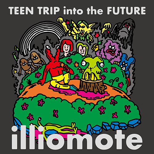 2nd EP「Teen Trip Into The Future」