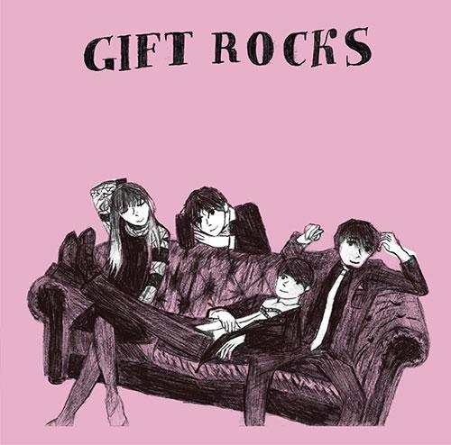 ♪15th Anniversary Album「GIFT ROCKS」NOW ON SALE