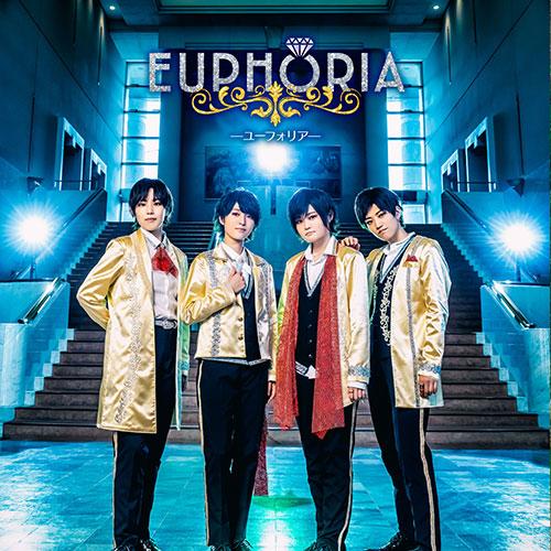 1stアルバム「EUPHORIA」NOW ON SALE