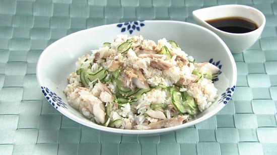 アジの干物寿司