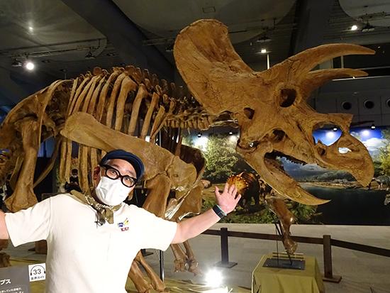 ティラノサウルス展 兵動大樹