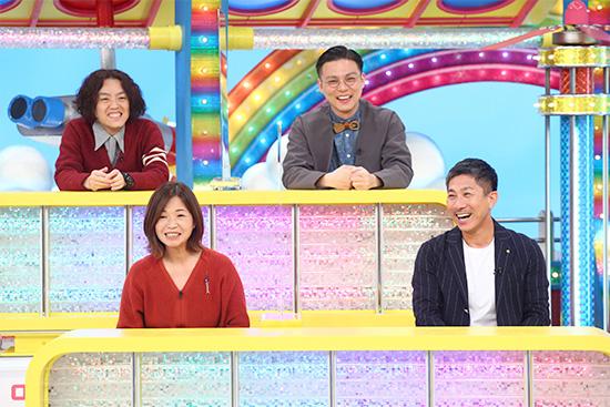 よじょう(学天即)、奥田修二(学天即) 下段左から)大久保佳代子、前園真聖