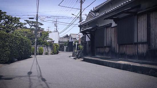 孝子越街道