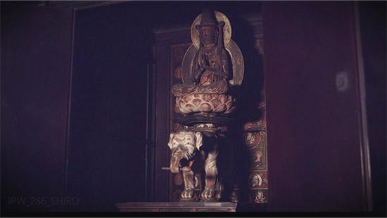 普賢菩薩騎象像