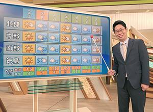 気象予報士・片平敦さん