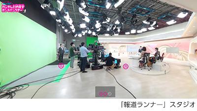 「報道ランナー」スタジオ